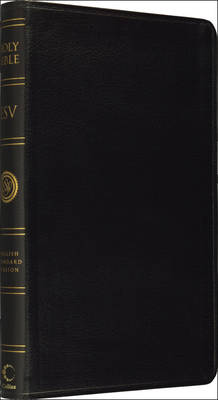 Holy Bible: English Standard Version (ESV) Anglicised Thinline Black Leather Gift Edition by Collins Anglicised ESV Bibles