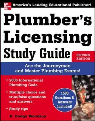 Plumber's Licensing Study Guide by Roger Woodson