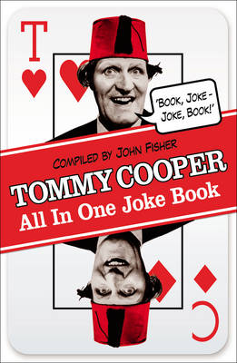 Tommy Cooper All in One Joke Book Book Joke, Joke Book by Tommy Cooper
