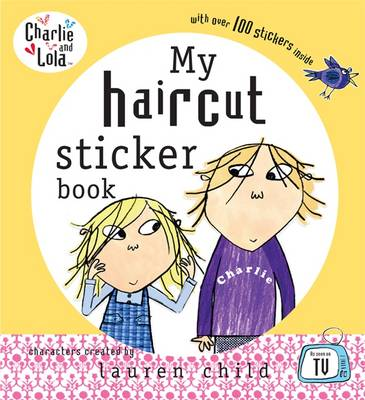 My Haircut Sticker Book by