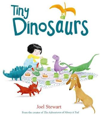 Cover for Tiny Dinosaurs by Joel Stewart