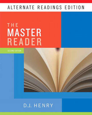 The Master Reader Alternate Reading Edition by D. J. Henry