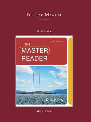 Lab Manual for the Master Reader by D. J. Henry