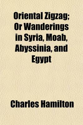 Oriental Zigzag, Or, Wanderings in Syria, Moab, Abyssinia, and Egypt by Professor Charles Hamilton