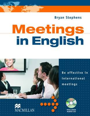 Meetings in English with Audio CD by Bryan Stephens