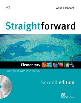Straightforward (2nd Edition) Elementary Workbook with Answer Key & CD by Philip Kerr, Roy Norris, Lindsay Clandfield, Ceri Jones
