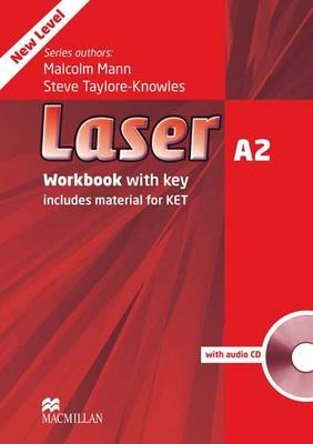 Laser A2 Workbook with Key + Audio CD Pack by Steve Taylore-Knowles, Malcolm Mann