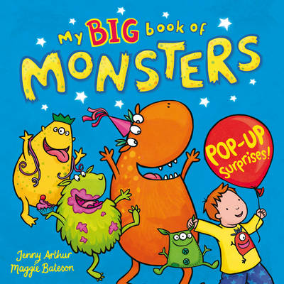My Big Book of Monsters by Jenny Arthur