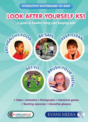 Look After Yourself KS1 CD-ROM & Site Licence a Guide to Healthy Living and Keeping Safe by Laura Durman