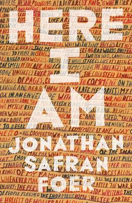 Cover for Here I am by Jonathan Safran Foer