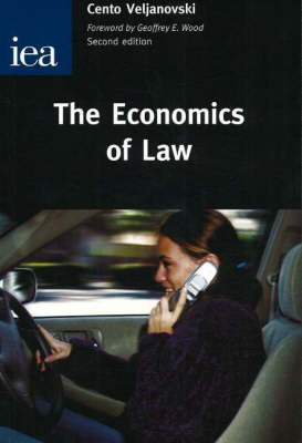 The Economics of Law An Introductory Text by Cento G. Veljanovski