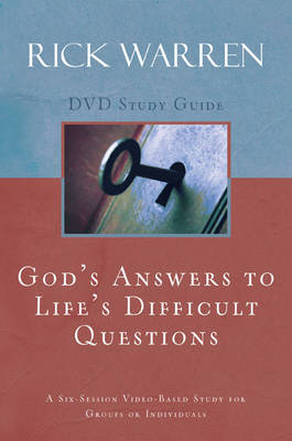 God's Answers to Life's Difficult Questions Study Guide by Rick Warren