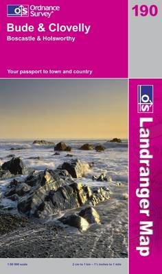 Bude and Clovelly, Boscastle and Holsworthy by Ordnance Survey