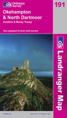 Okehampton and North Dartmoor by Ordnance Survey