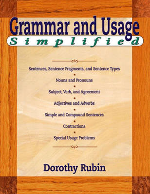 Grammar Simplified by Dorothy Rubin