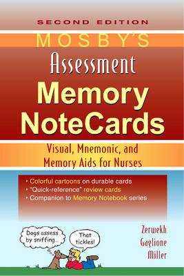 Mosby'S Assessment Memory Notecards 2e by JoAnn Zerwekh