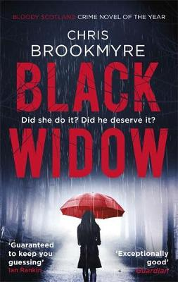 Cover for Black Widow by Christopher Brookmyre