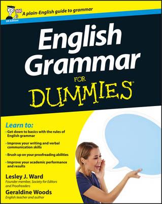 English Grammar For Dummies by Lesley Ward, Geraldine Woods