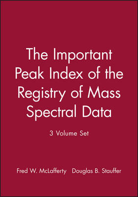 The Important Peak Index of the Registry of Mass Spectral Data by F.W. McLafferty