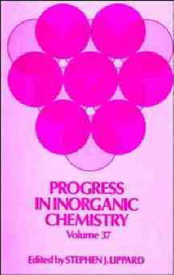 Progress in Inorganic Chemistry by S.J. Lippard