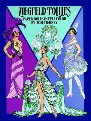 Ziegfeld Follies Paper Dolls by Tom Tierney