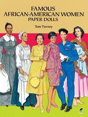 Famous African-American Women Paper Dolls by Tom Tierney