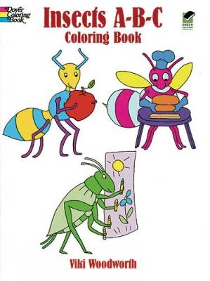 Insects ABC Colouring Book by Viki Woodworth