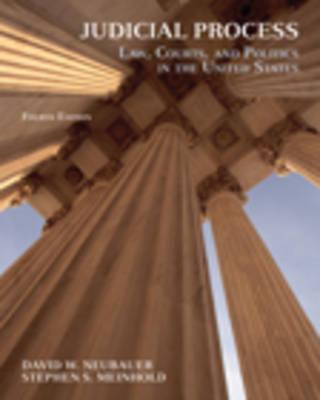Judicial Process 4e by MEINHOLD, NEUBAUER
