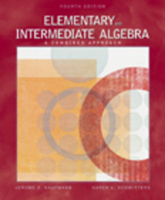 Ele/Int Alg-CD/Ilrn/INF 4e by SCHWITTERS, KAUFMANN