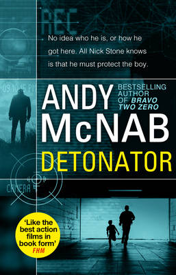 Cover for Detonator by Andy McNab