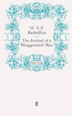 The Journal of a Disappointed Man by W. N. P. Barbellion