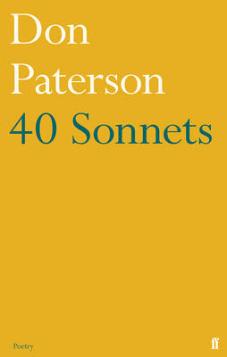 40 Sonnets by Don Paterson