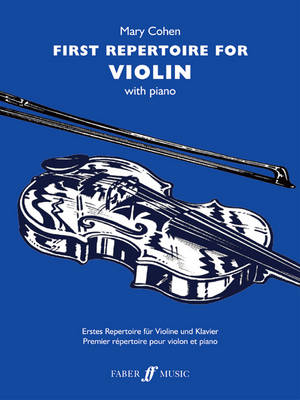 First Repertoire for Violin by Mary Cohen