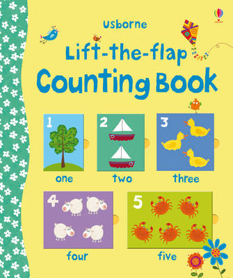 Lift the Flap Counting Book by Felicity Brooks