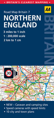 Northern England by AA Publishing