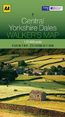 Central Yorkshire Dales by AA Publishing