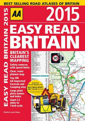 Easy Read Britain 2015 by AA Publishing