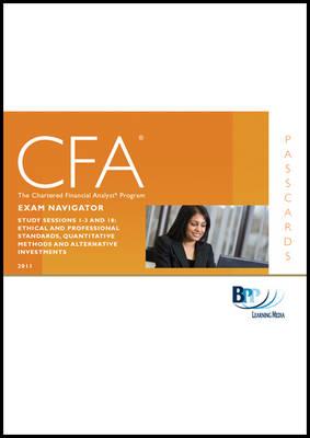 CFA Navigator - Level 1 Passcards by BPP Learning Media