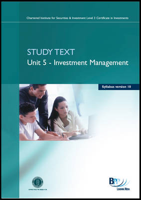 CISI Certificate - Unit 5 Syllabus Version 10 Study Text by BPP Learning Media