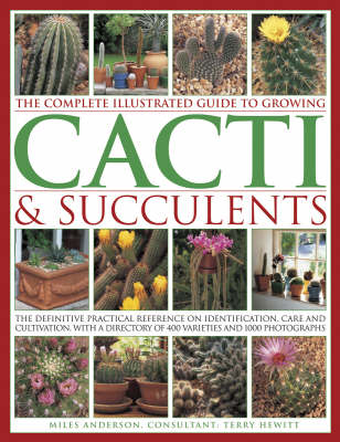 The Complete Illustrated Guide to Growing Cacti and Succulents The Definitive Practical Reference on Identification, Care and Cultivation, with a Directory of 400 Varieties and 1000 Photographs by Miles Anderson