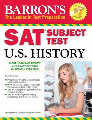 Sat Subject Test U.S. History by Kenneth R. Senter