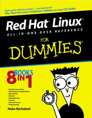 Red Hat Linux All-in-one Desk Reference for Dummies by Naba Barbakati