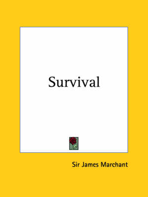 Survival (1924) by Sir James Marchant