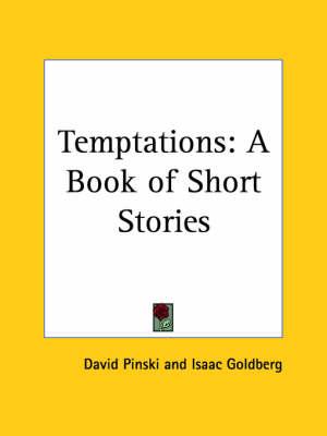 Temptations: A Book of Short Stories (1919) by David Pinski
