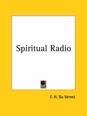 Spiritual Radio (1925) by F.H. Du Vernet