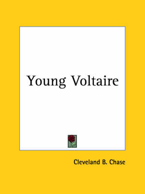 Young Voltaire (1929) by Cleveland B. Chase