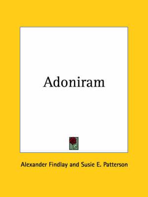 Adoniram (1927) by Alexander Findlay