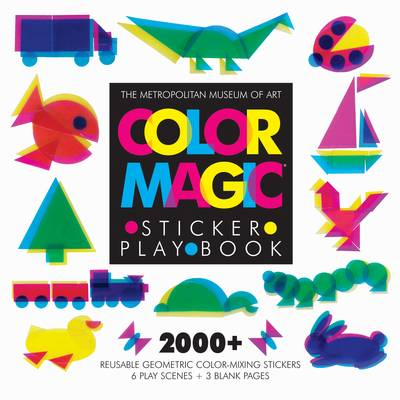Color Magic Sticker Play Book by Metropolitan Museum of Art