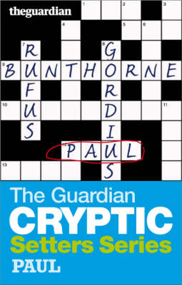 The Guardian Cryptic Crosswords Setters Series Bunthorne by Hugh Stephenson