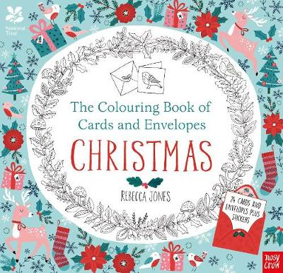 The National Trust: The Colouring Book of Cards and Envelopes - Christmas by Rebecca Jones